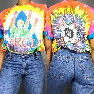 '95 Vintage Jerry Garcia Grateful Dead Tie Dye Tee